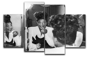 Ella Fitzgerald 2 4 Split Panel Canvas - Canvas Art Rocks - 1