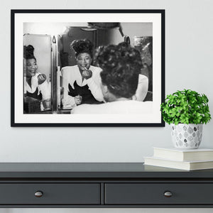 Ella Fitzgerald 2 Framed Print - Canvas Art Rocks - 1