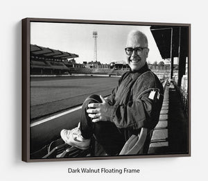 Elton John at Vicarage Rd Floating Frame Canvas - Canvas Art Rocks - 5