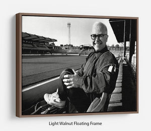 Elton John at Vicarage Rd Floating Frame Canvas - Canvas Art Rocks - 7