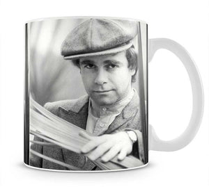 Elton John in plants Mug - Canvas Art Rocks - 1