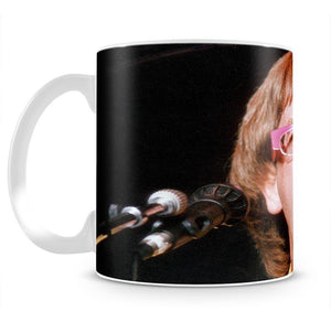 Elton John singing Mug - Canvas Art Rocks - 2