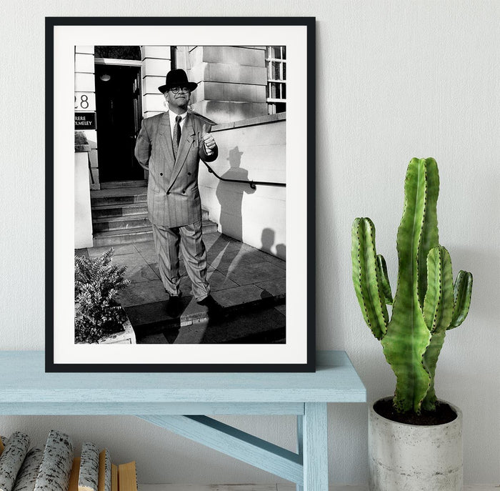 Elton in 1988 Framed Print