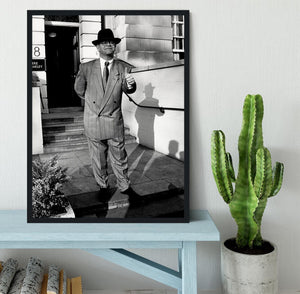 Elton in 1988 Framed Print - Canvas Art Rocks - 2