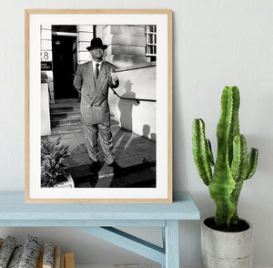 Elton in 1988 Framed Print - Canvas Art Rocks - 3