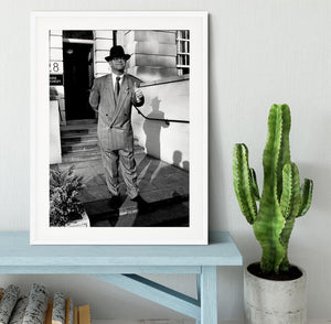 Elton in 1988 Framed Print - Canvas Art Rocks - 5