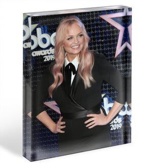 Emma Bunton Acrylic Block - Canvas Art Rocks - 1