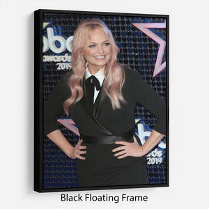 Emma Bunton Floating Frame Canvas - Canvas Art Rocks - 1