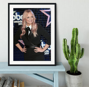 Emma Bunton Framed Print - Canvas Art Rocks - 1