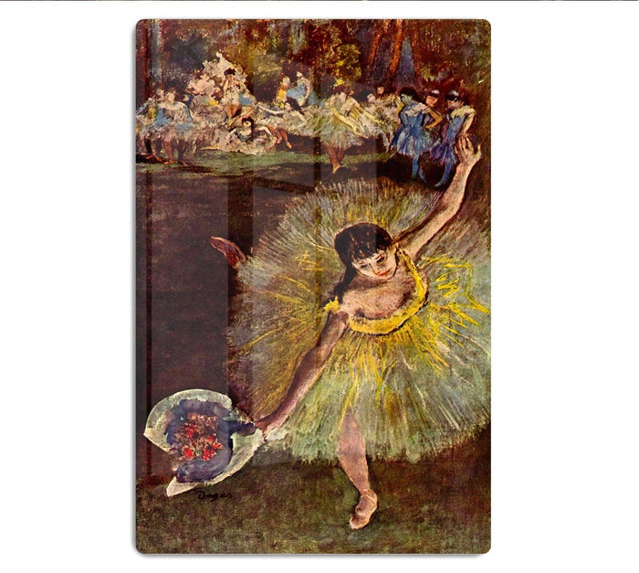 End of the arabesque by Degas HD Metal Print