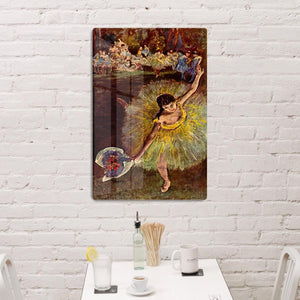 End of the arabesque by Degas HD Metal Print - Canvas Art Rocks - 3