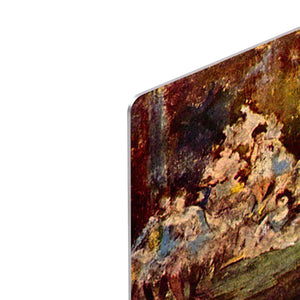 End of the arabesque by Degas HD Metal Print - Canvas Art Rocks - 4