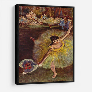 End of the arabesque by Degas HD Metal Print - Canvas Art Rocks - 6