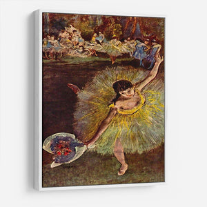End of the arabesque by Degas HD Metal Print - Canvas Art Rocks - 7