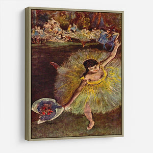 End of the arabesque by Degas HD Metal Print - Canvas Art Rocks - 8