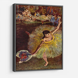 End of the arabesque by Degas HD Metal Print - Canvas Art Rocks - 9
