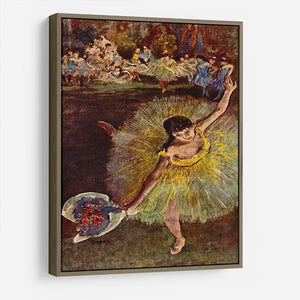 End of the arabesque by Degas HD Metal Print - Canvas Art Rocks - 10