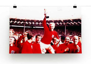 England World Cup 1966 Print - Canvas Art Rocks - 2