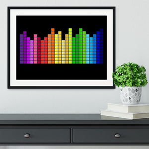 Equaliser Framed Print - Canvas Art Rocks - 1