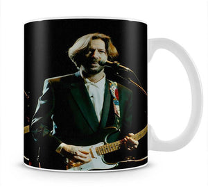 Eric Clapton on stage Mug - Canvas Art Rocks - 1