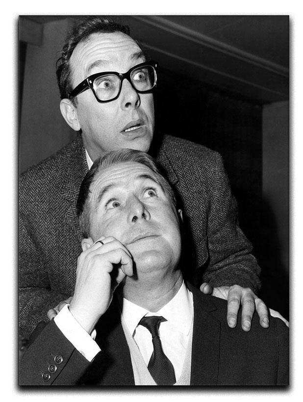 Eric and Ernie in the 1960s Canvas Print or Poster