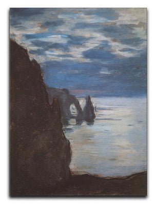 Etretat by Monet Canvas Print & Poster  - Canvas Art Rocks - 1