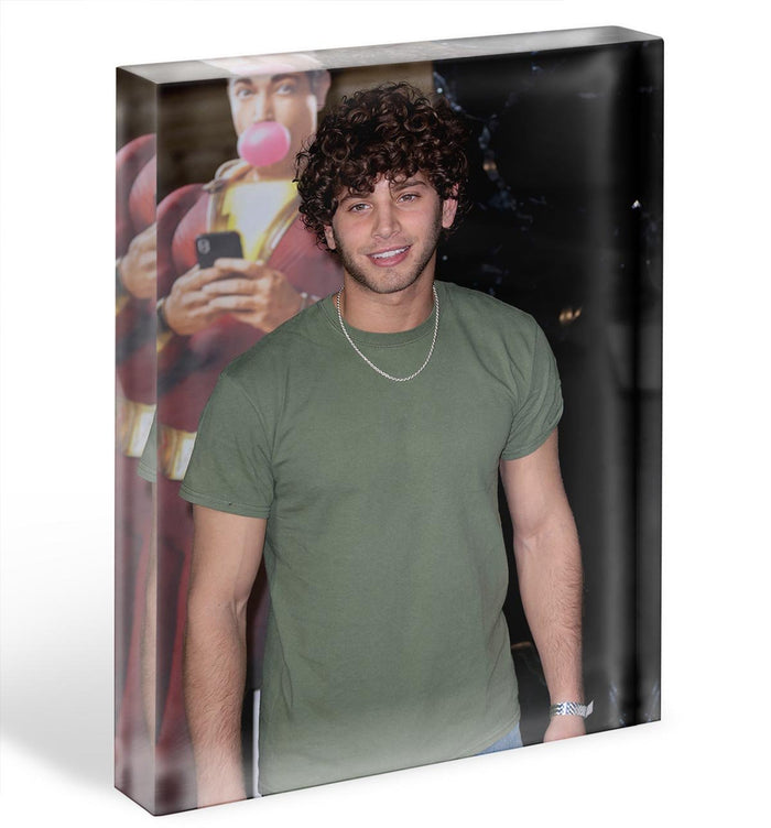 Eyal Booker Acrylic Block