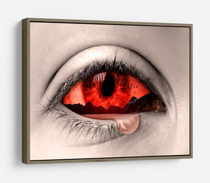 Eye Of Nature HD Metal Print