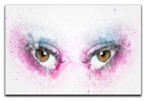 Eye Painting Canvas Print or Poster  - Canvas Art Rocks - 1
