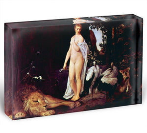 Fable by Klimt Acrylic Block - Canvas Art Rocks - 1
