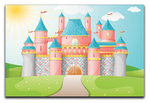 FairyTale castle illustration Canvas Print or Poster  - Canvas Art Rocks - 1