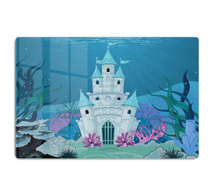 Fairy Tale Mermaid Princess Castle HD Metal Print