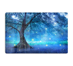 Fairy Tree In Mystic Forest HD Metal Print