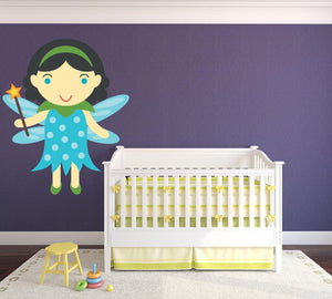 Fantasy Fairy Godmother Wall Sticker - Canvas Art Rocks - 1