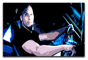 Fast And Furious Dom Canvas Print or Poster  - Canvas Art Rocks - 1