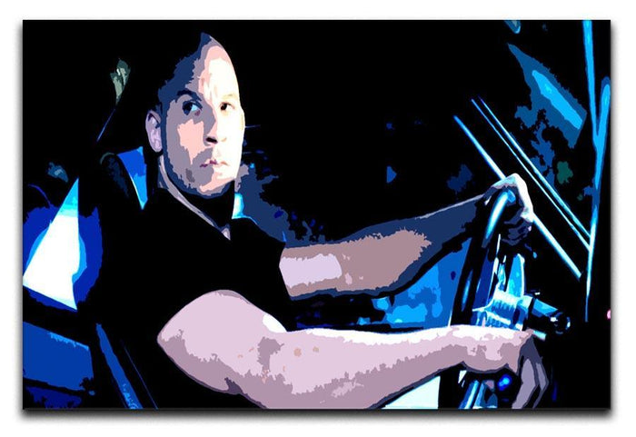 Fast And Furious Dom Canvas Print or Poster