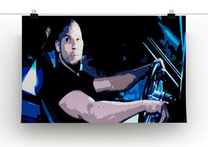 Fast And Furious Dom Canvas Print or Poster - Canvas Art Rocks - 2