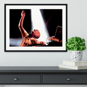 Fatboy Slim Framed Print - Canvas Art Rocks - 1