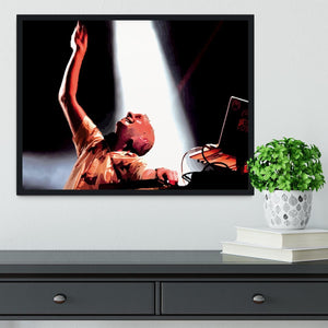 Fatboy Slim Framed Print - Canvas Art Rocks - 2