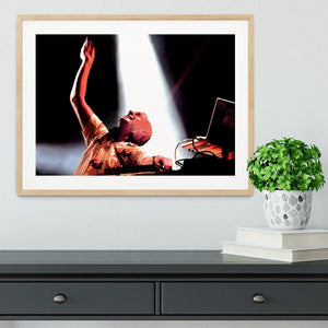 Fatboy Slim Framed Print - Canvas Art Rocks - 3