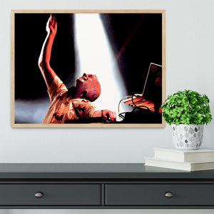 Fatboy Slim Framed Print - Canvas Art Rocks - 4