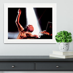 Fatboy Slim Framed Print - Canvas Art Rocks - 5