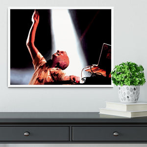Fatboy Slim Framed Print - Canvas Art Rocks -6
