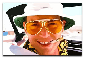 Fear and Loathing in Las Vegas Close Up Canvas Print or Poster  - Canvas Art Rocks - 1