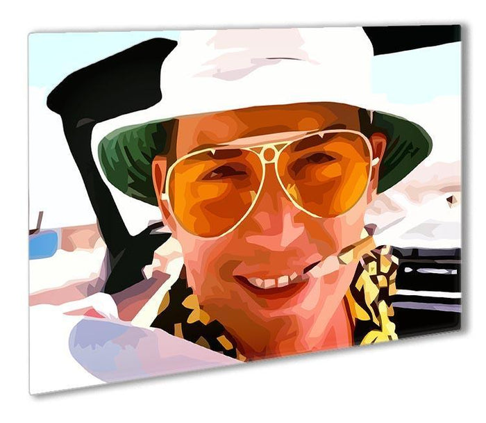 Fear and Loathing in Las Vegas Close Up Outdoor Metal Print