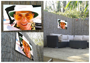 Fear and Loathing in Las Vegas Close Up Outdoor Metal Print - Canvas Art Rocks - 2