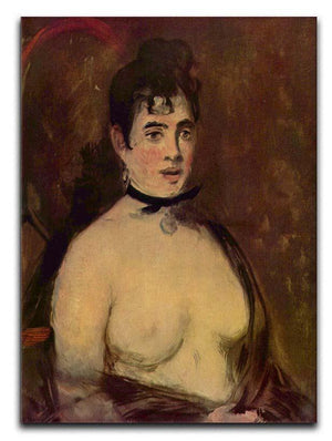 Female act by Manet Canvas Print or Poster  - Canvas Art Rocks - 1