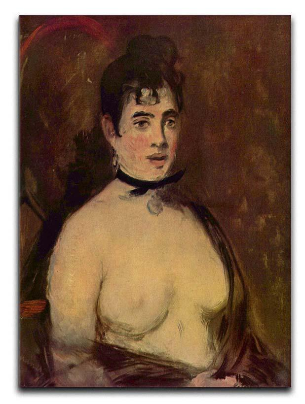 Female act by Manet Canvas Print or Poster