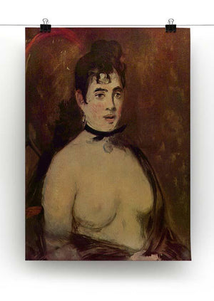 Female act by Manet Canvas Print or Poster - Canvas Art Rocks - 2