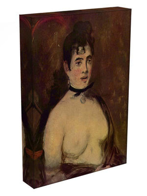 Female act by Manet Canvas Print or Poster - Canvas Art Rocks - 3